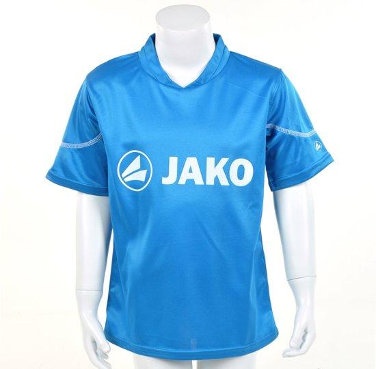 Jako Promo T - Sportshirt - Kinderen - Maat 116 - Light Blauw