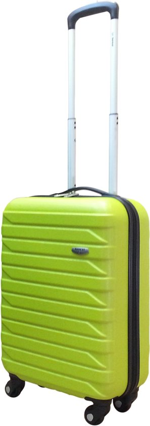Benzi - handbagage koffer - 55 cm - Malagon - lime