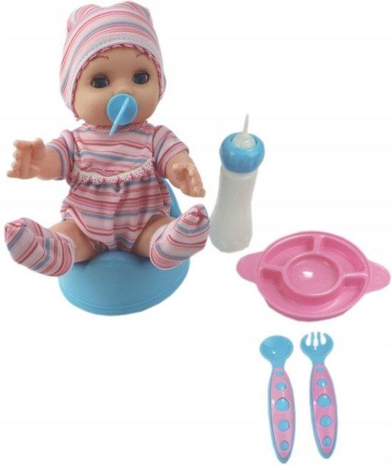 Babyspeelgoed Met Accessoires Voor Kinderen Peuter Babyborn | Interactieve Poppen Meisje Baby Newborn