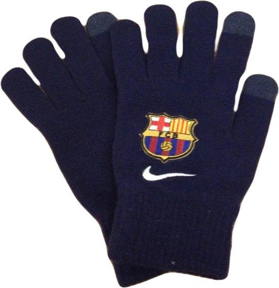 Nike Barcelona Kinderhandschoen - Navy - Maat L/XL