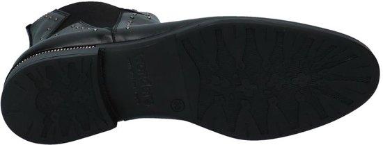 Wonders Studs Boots Zwarte Met Chelsea FJ3TlcK1