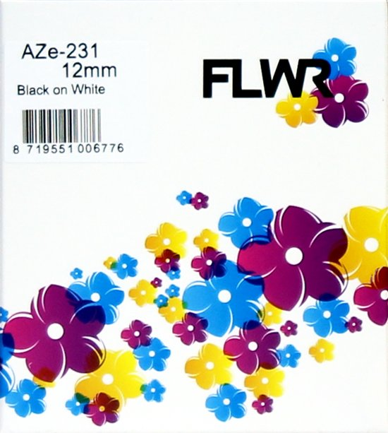 FLWR TZE-231 zwart