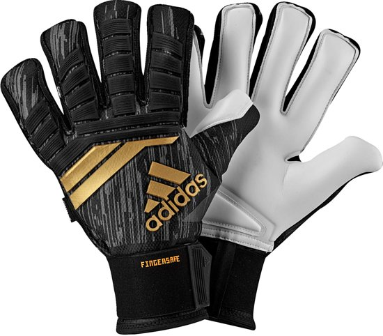 new arrival 799b9 87264 Adidas Predator Pro Fingersave Black Solar Red Copper Gold-9
