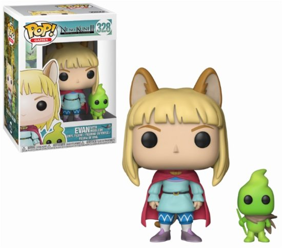 Funko Pop! Buddy Ni No Kuni Evan With Higgledy Vinyl Figure - Verzamelfiguur