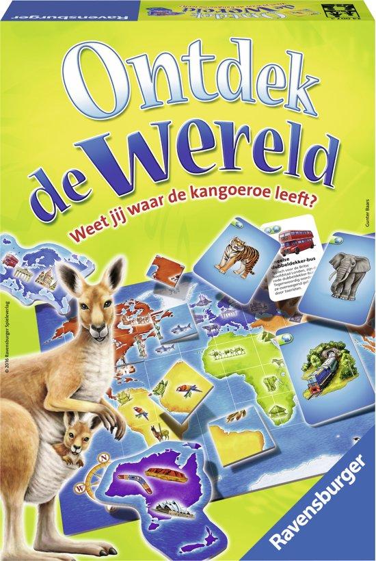 Ravensburger Ontdek de wereld - leerspel