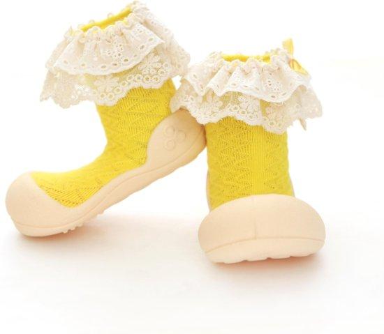Lady geel babyschoenen, maat  19