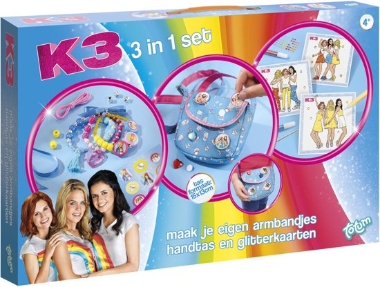 K3 3 in 1 Creativity Set
