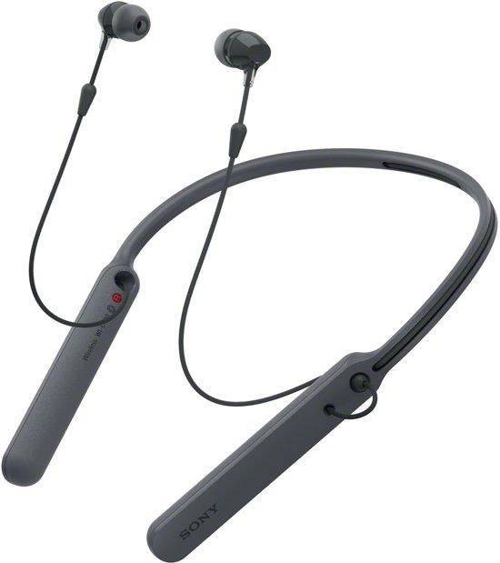 Sony WI-C400 - Draadloze in-ear oordopjes - Zwart