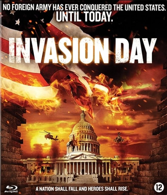 DVD cover van Invasion Day