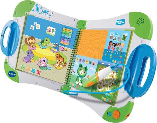 VTech MagiBook Blauw (Inclusief Activiteitenboek: Een Dag Uit Het Dagelijks Leven)