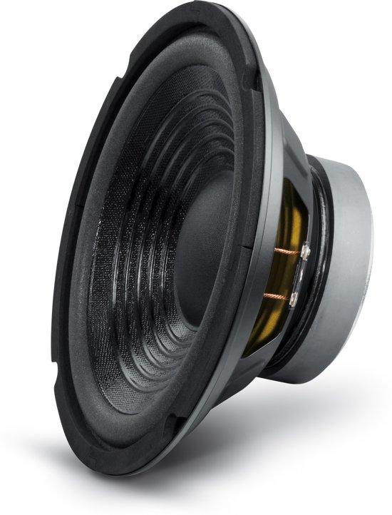 Losse woofer PA Bass Speaker 8 inch/20cm 100 Watt 8 Ohm met foamrand en geventileerde magneet