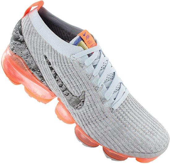 Nike Air VaporMax Flyknit 3 AJ6900 001 Heren Sneaker Sportschoenen Schoenen Grijs Maat EU 42 US 8.5