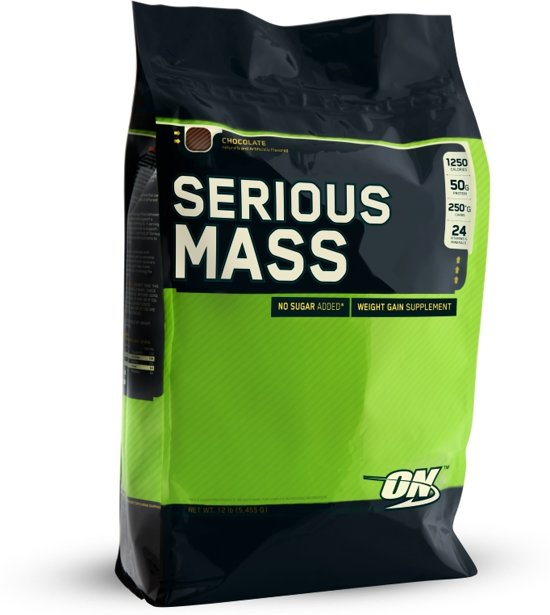 Optimum Nutrition Serious Mass - 5.455 kg - Strawberry