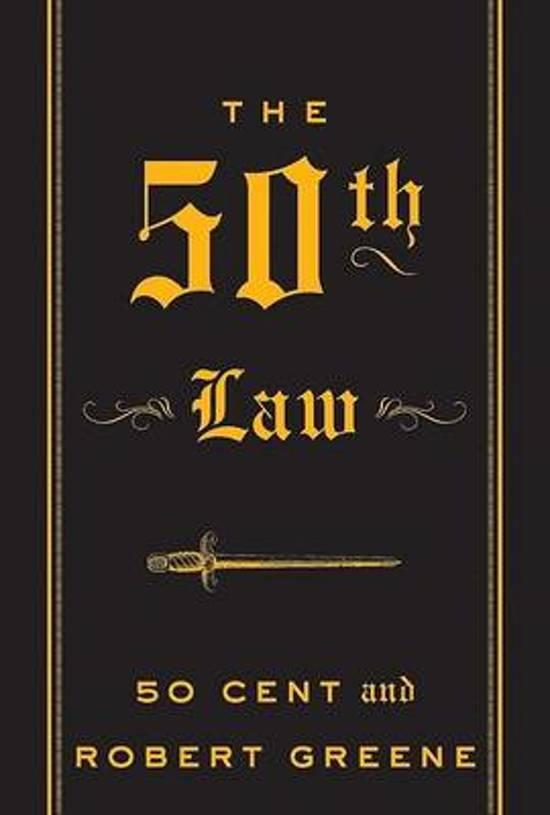 Boek cover The 50th Law van Robert Greene (Onbekend)