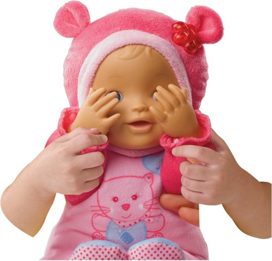 VTech Little Love Kiekeboe Baby Roze - Babypop
