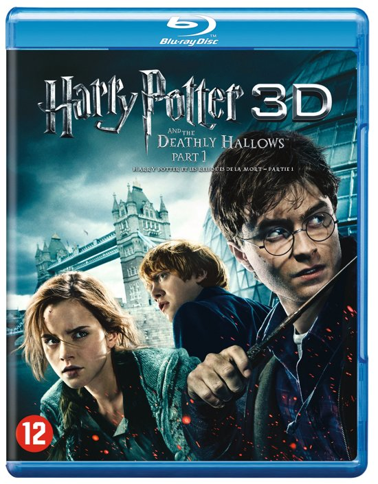 Harry Potter And The Deathly Hallows: Part 1 (3D & 2D Blu-ray)