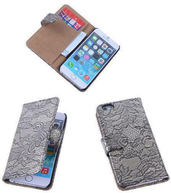 Lace Zwart iPhone 6 Book/Wallet Case/Cover Cover in Tintange