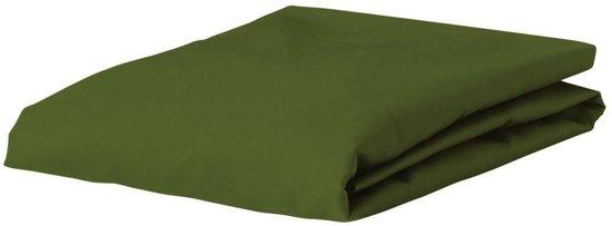 Essenza Premium - Percale katoen - Hoeslaken - Extra Hoog - Eenpersoons - 100x200 cm - Moss
