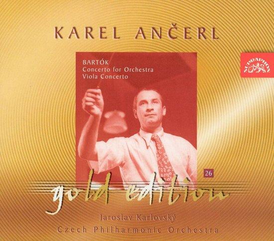 Ancerl Gold Edt. 26:Viola Concerto/Orchestra Conce