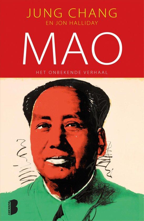 Boek cover Mao, het onbekende verhaal van Jung Chang (Onbekend)