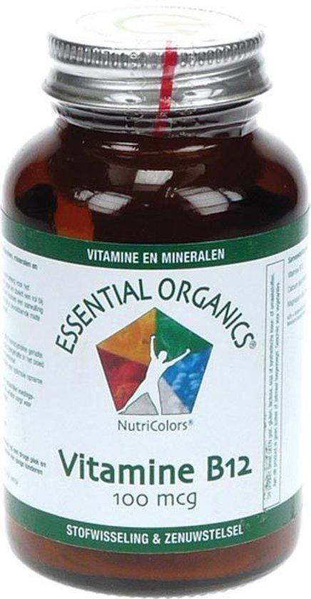Essential Organics® Vit B12 100µ- 90 Tabletten - Vitaminen
