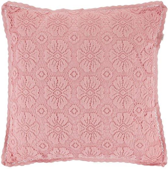 Kussenhoes Paget 45x45 cm roze