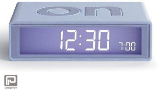 Wekkerradio Met Licht : Bol lexon flip lcd wekker licht grijs