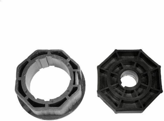 Brel Adaptieset 55 mm - as 8 kant 70 mm