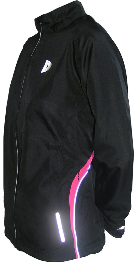 Donnay Hardloopjas - Running Jacket - Dames - Maat XL - Zwart