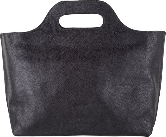 Myomy Carry Handbag Rambler Black Handtas Mom80080631 N