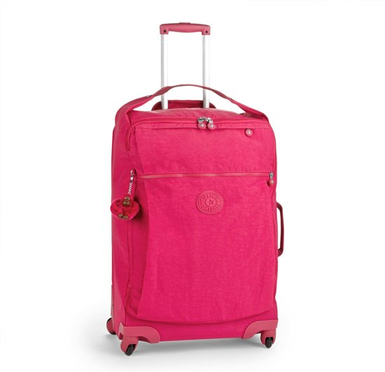 Kipling Darcey M Reiskoffer - 67 Cm - Cherry Pink C