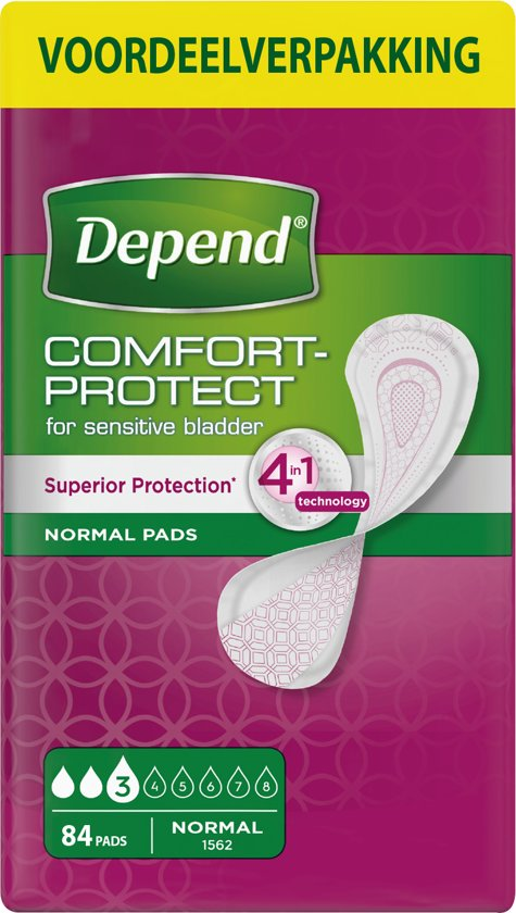 Depend Verband Normal Incontinentie - 84 stuks - Incontinentieverband