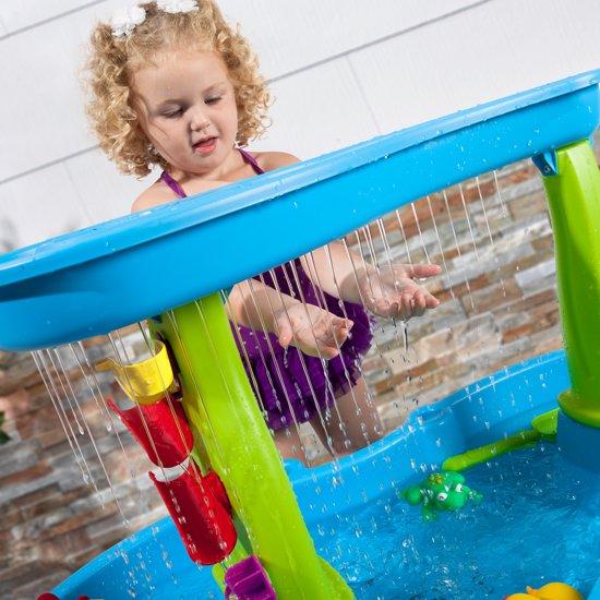 Rain Shower Splash Pond Watertafel
