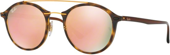 15895f5826388c Ray-Ban RB4266 710 2Y - Round Tech - zonnebril - Tortoise-Bruin