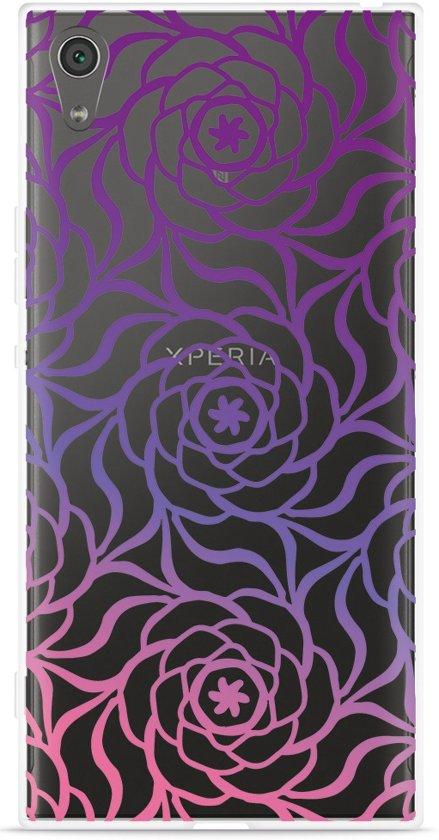 Sony Xperia XA1 Ultra Hoesje Roses in Biervliet