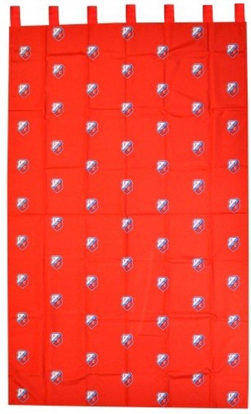 fc utrecht gordijn 140 x 245 cm rood