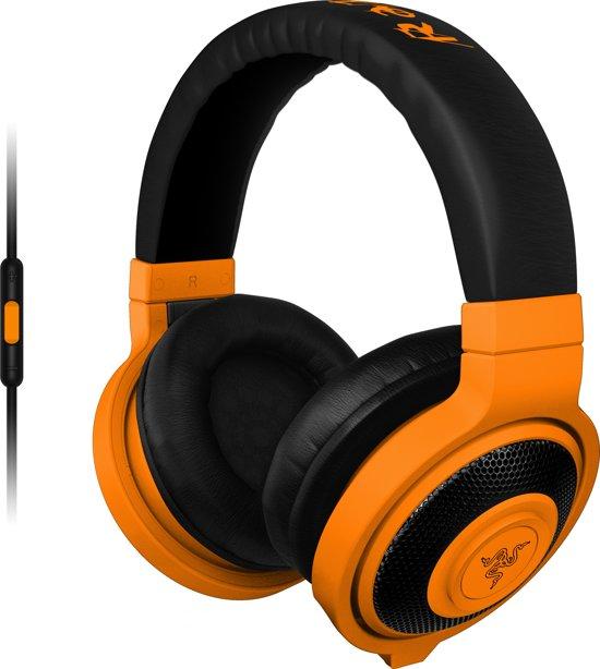 Razer Kraken Mobile Neon - Gaming Headset - Windows + MAC + Mobile - Oranje