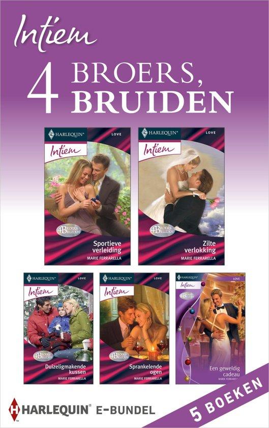 Intiem Bundel - 4 broers, 4 bruiden (5-in-1)