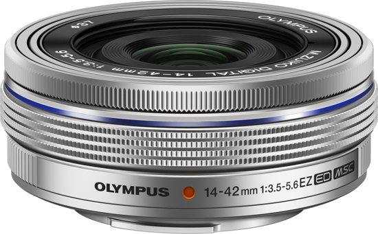 Olympus M ZUIKO Digital - Lens - ED 14-42 mm - F3.5 - 5.6 EZ - Zilver