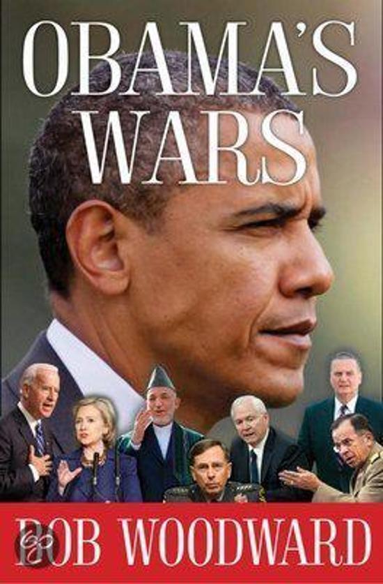 Boek cover Obamas Wars van Bob Woodward (Hardcover)