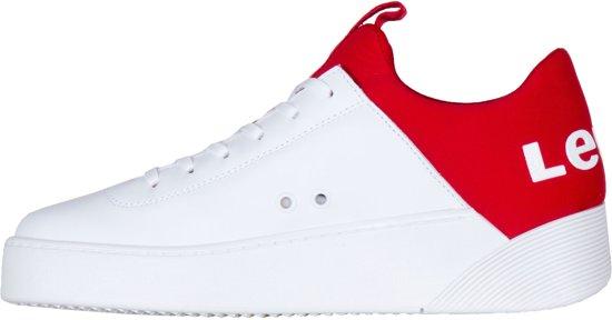 Wit 41 Vrouwen Levi SneakersMaat rood BoeCxrd