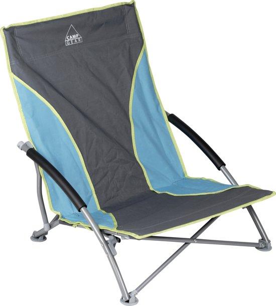 camp gear compact strandstoel blauw kamperen expert. Black Bedroom Furniture Sets. Home Design Ideas
