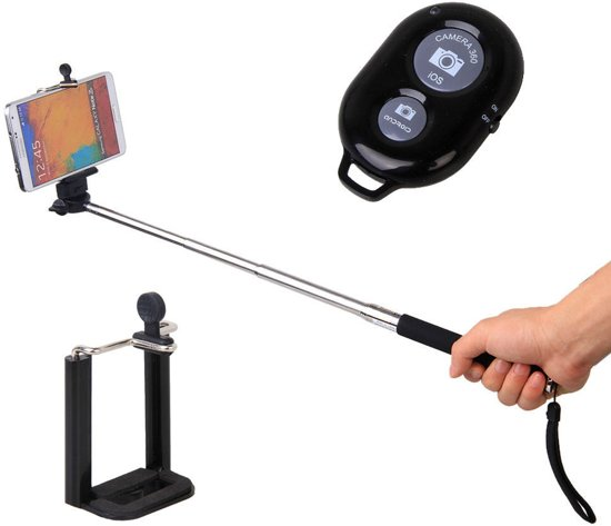 Azuri selfiestick (extension arm & shutter)