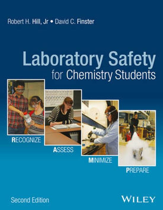 Bol Laboratory Safety For Chemistry Students Robert H Hill