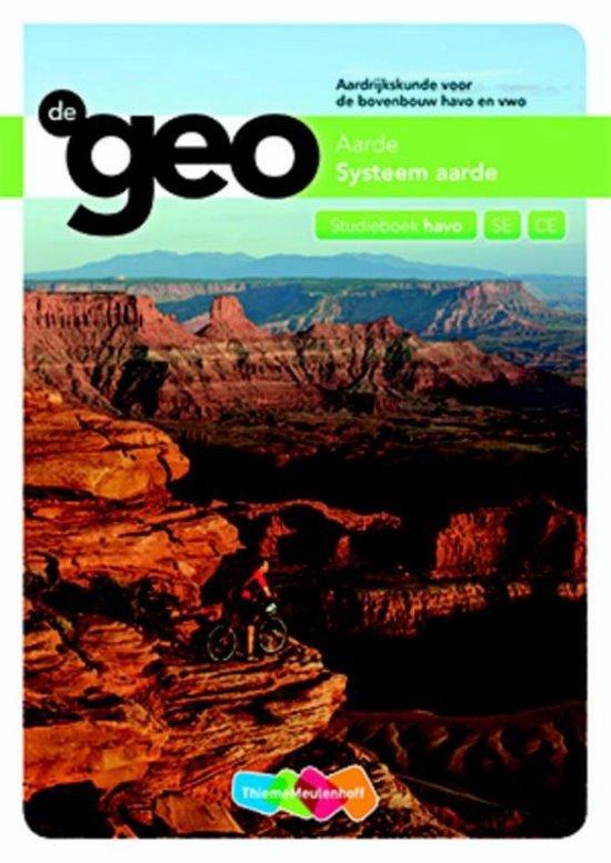 De geo Aarde systeem aarde Havo SE CE Studieboek