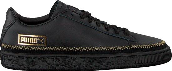 7f8f8643e13 bol.com | Puma Dames Sneakers Basket Trim Metallic Wn's - Zwart ...