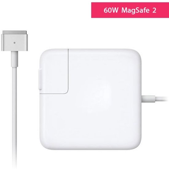 Macbook Oplader - 60W Magsafe 2 Power Adapter - voor MacBook Pro en Pro Retina 13 inch