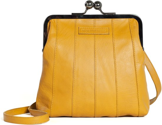 233470eaa20 bol.com | Sticks and Stones - Perugia Bag - Buff Washed - Honey Yellow