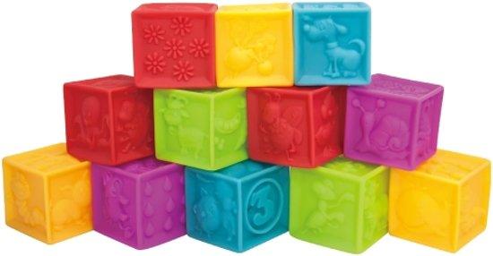 Spiksplinternieuw bol.com   Gekleurde Blokken voor Baby - Imaginarium - Rubber SH-87