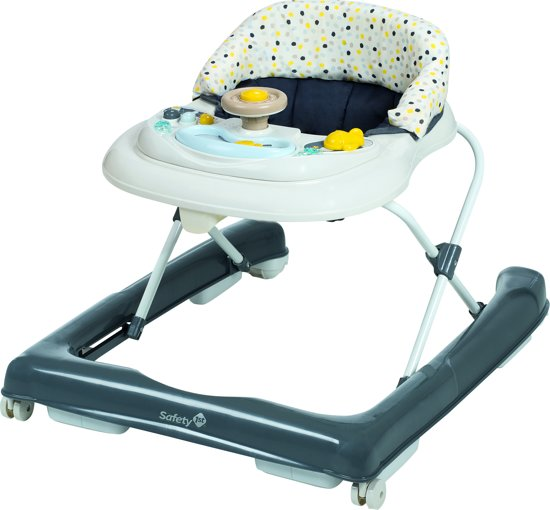 Bolcom Safety 1st Ludo Baby Walker Loopstoel Grey Patches